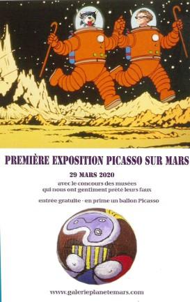 20010 Picasso sur mars