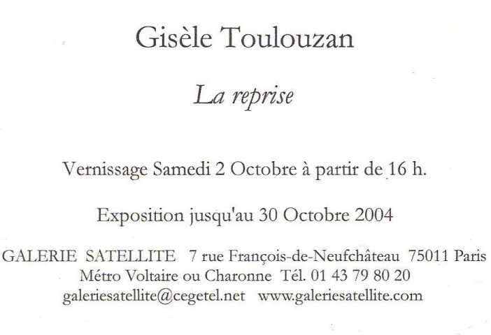 2004.carton - La reprise