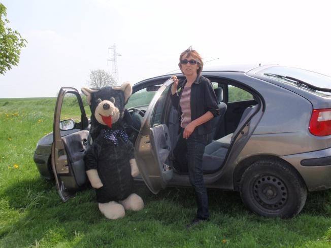 Gisèle Toulouzan avec bruno